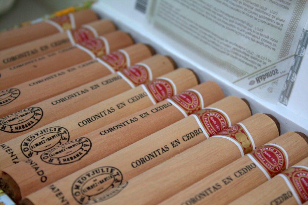 Romeo y Julieta and Cohiba cigars