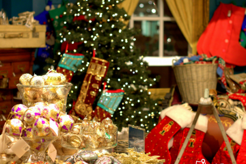 Christmas shop at Fortnum&Mason_London
