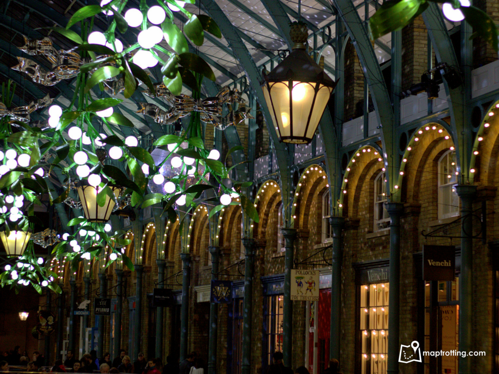 Christmassy Covent Garden_London