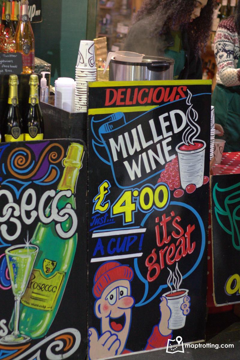 Mulled wine_Borough Market_London