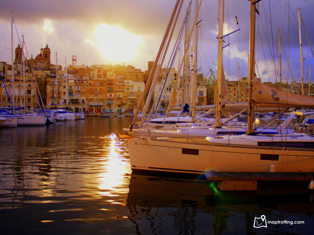 Sunset in Vitorriosa_Malta