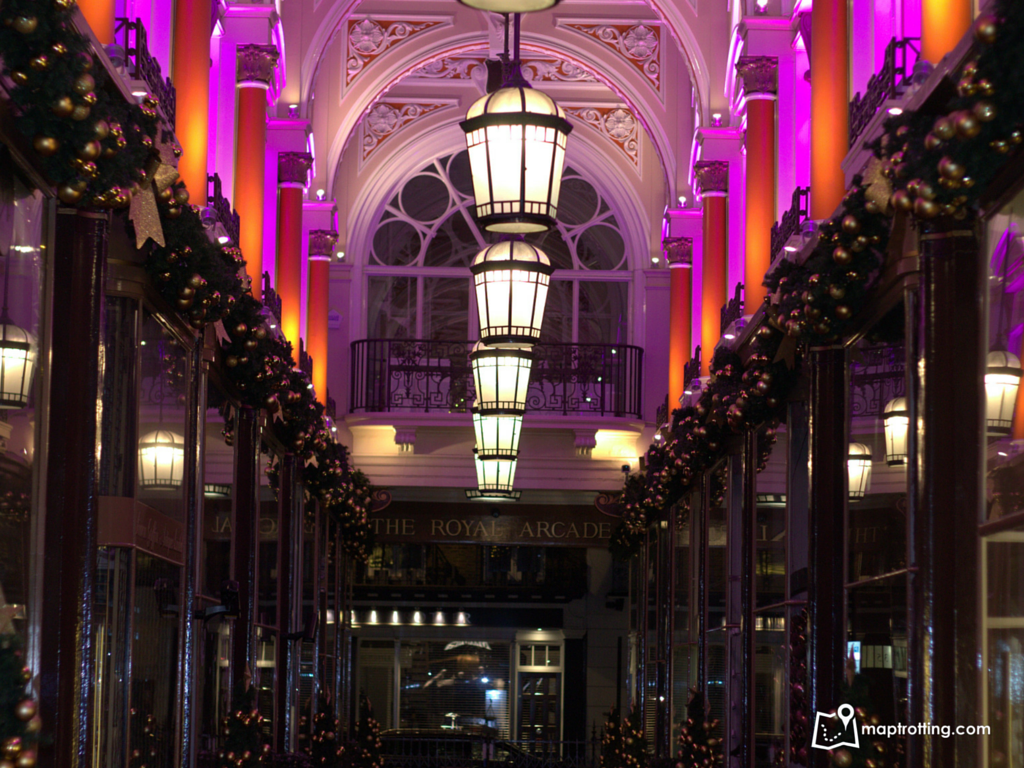 The Royal Arcade_Christmas in London