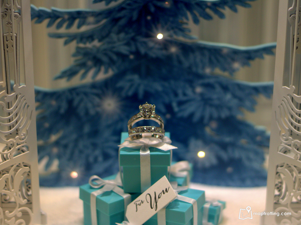 Tiffanny&Co Christmas display_London