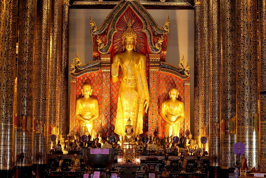 Wat Chedi Luang - one of the tallest structures in ancient Chiang Mai