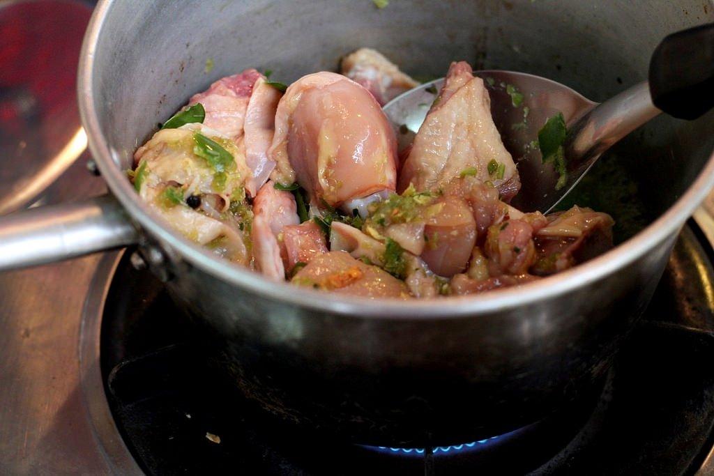 Ann's Thai cooking class - Thai green curry