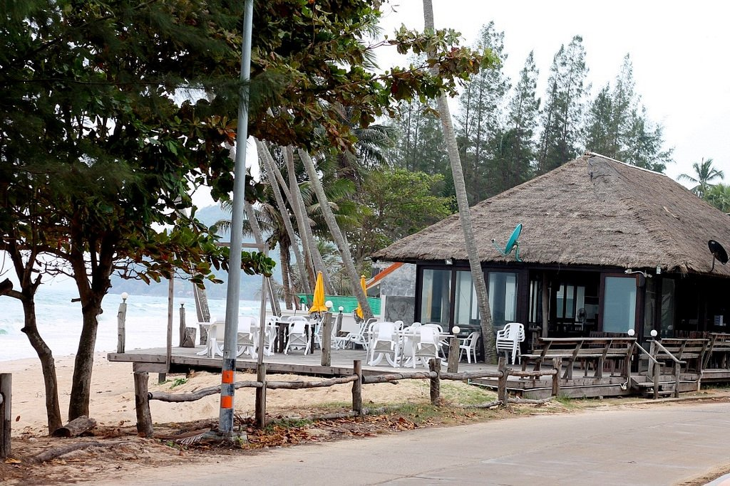 Nana Beach Resort restaurant.