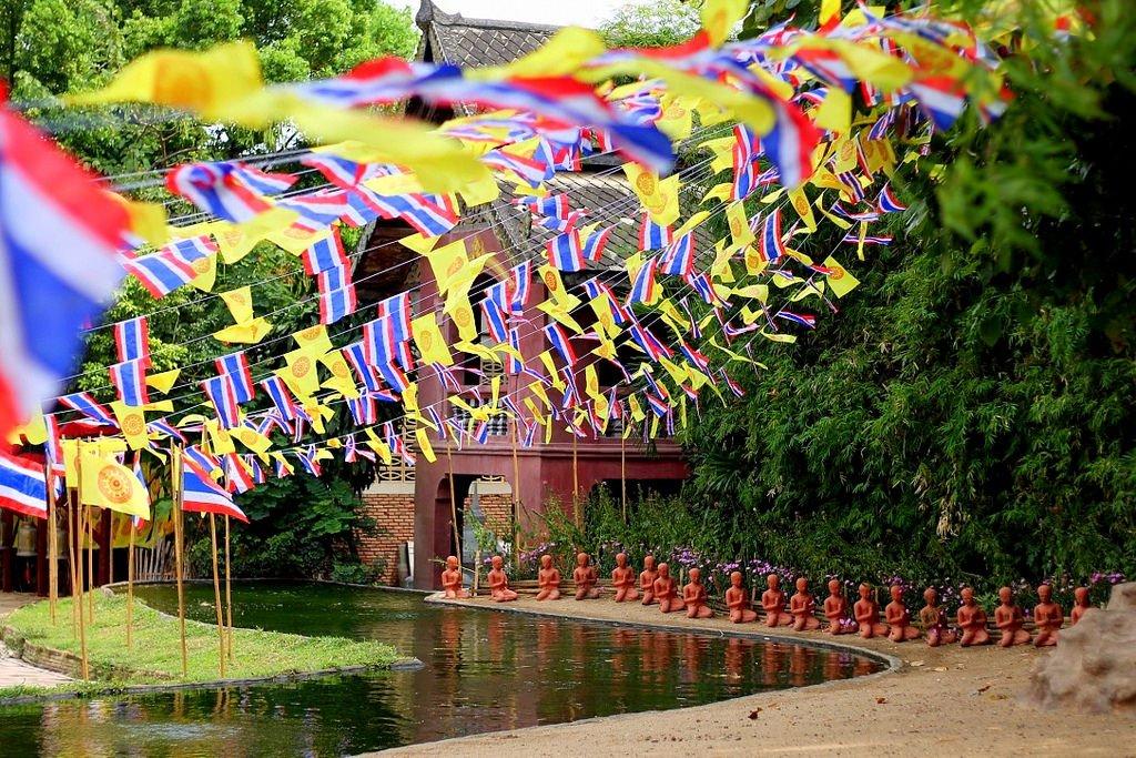 Wat Phan Tao, Chiang Mai , monastery