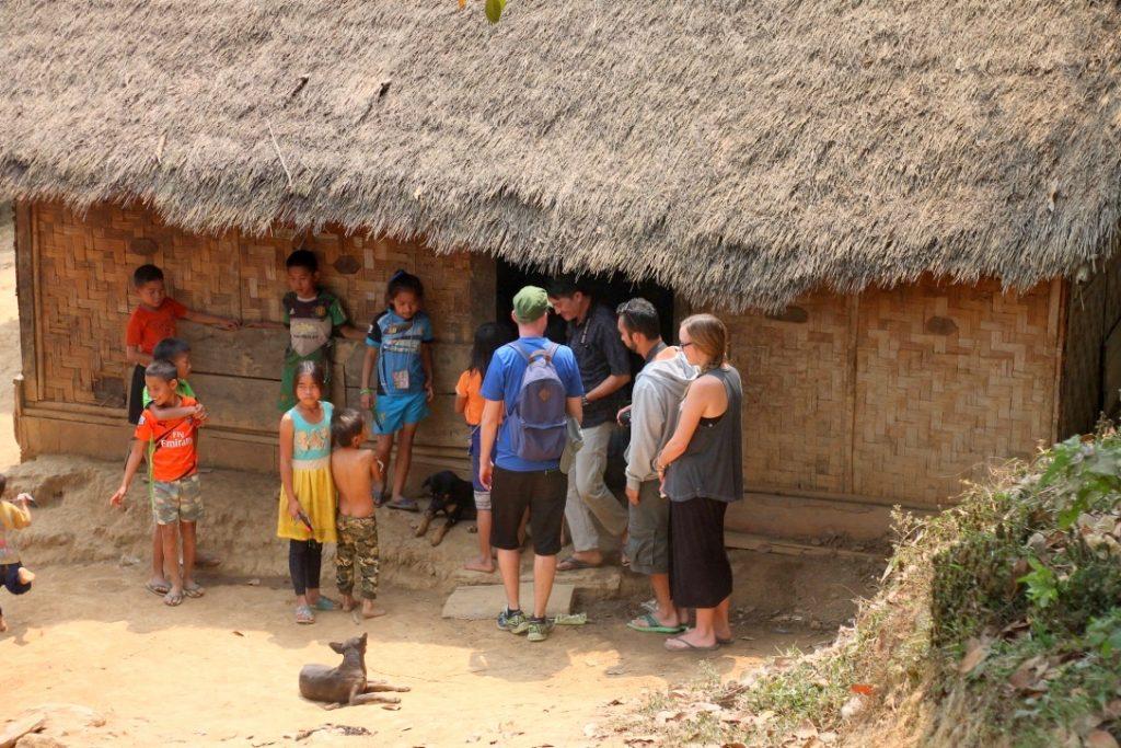 Mekong river tribal village visit