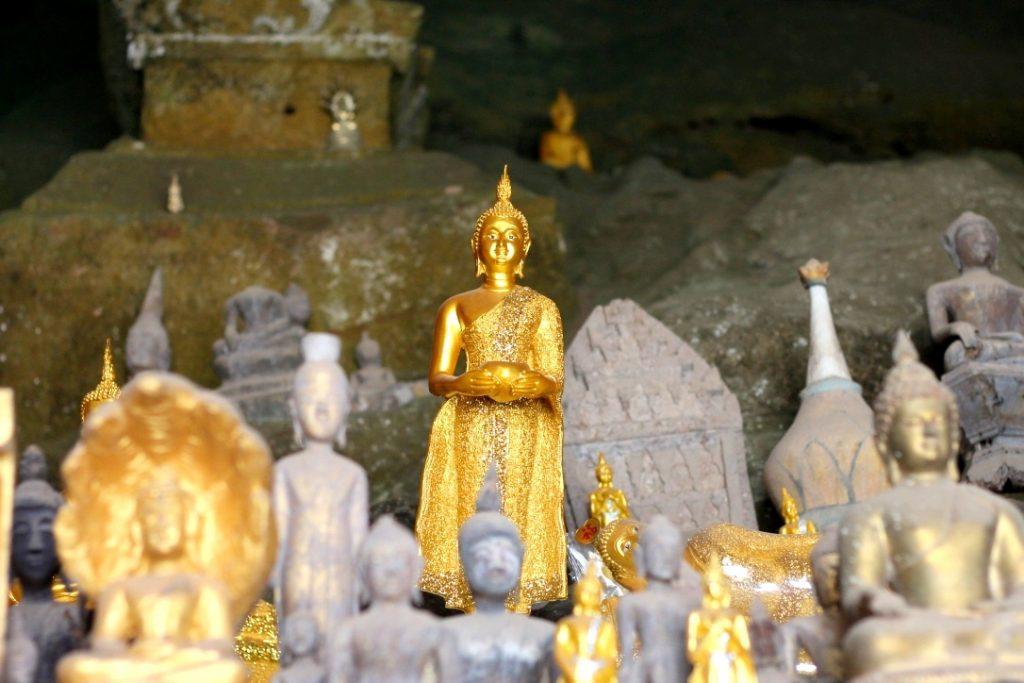 Pak Ou caves, Mekong River, Laos