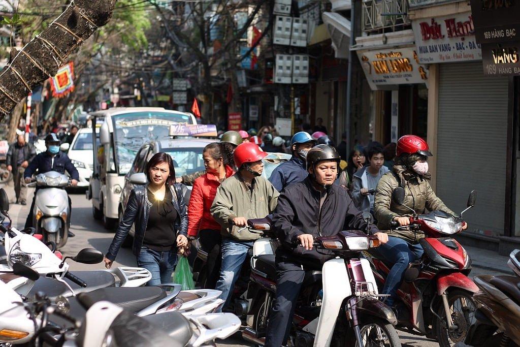 Getting around Hanoi