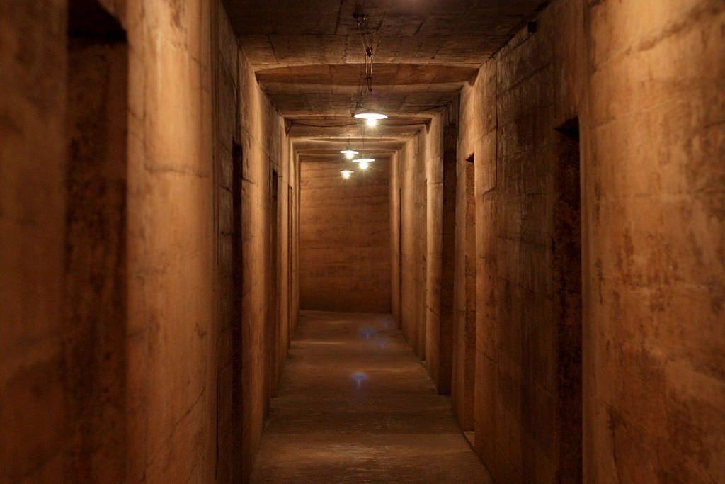 The spooky Hospital Cave on Cat Ba Island