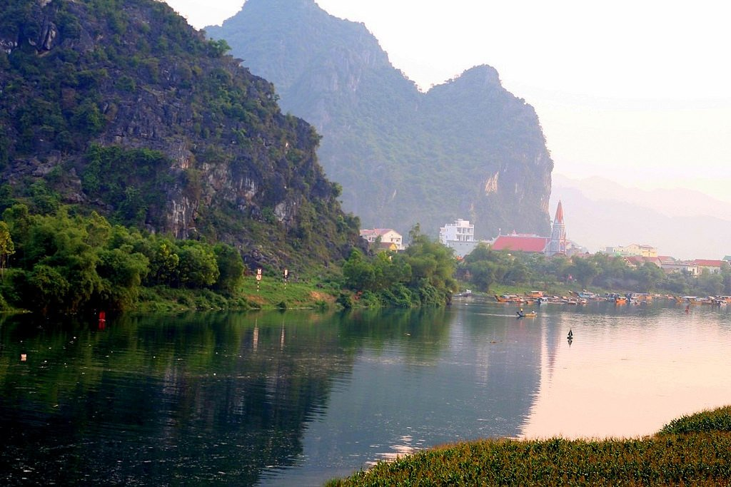 Visiting Phong Nha, Central Highlands, Vietnam