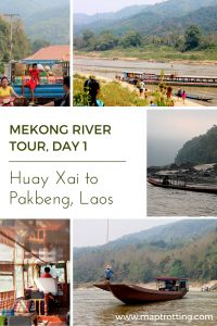 Slow Boat Boat Mekong river tour - day 1