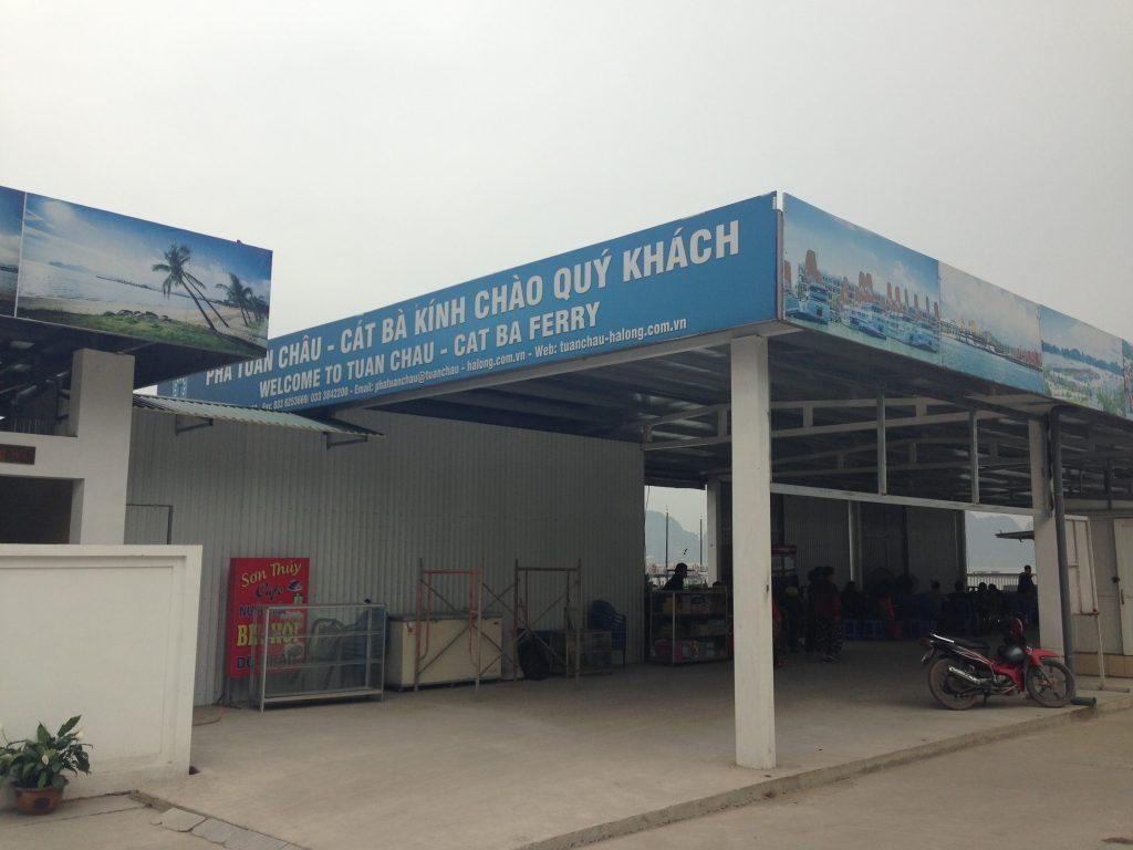 Tuan Chau to Cat Ba ferry terminal