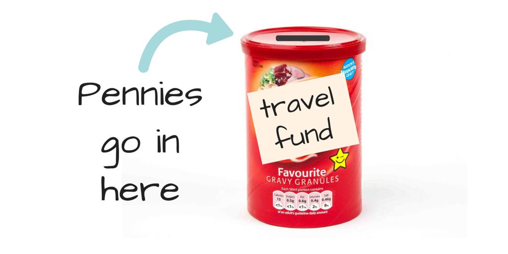 Travel savings tin tip