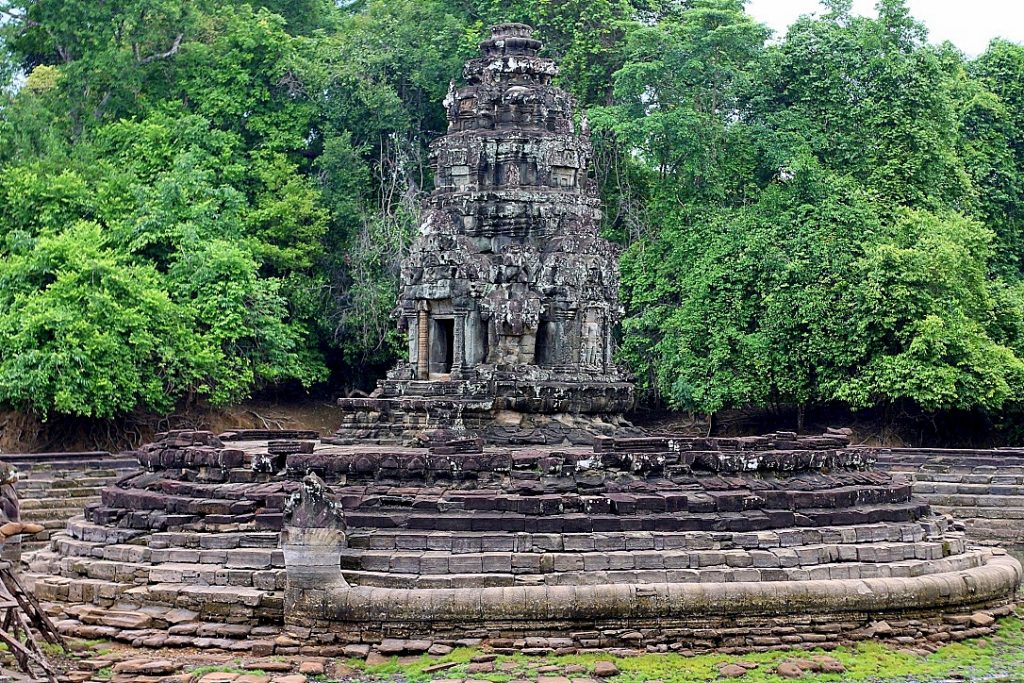 Neak Pean temple at the Angkor Archaeological Park