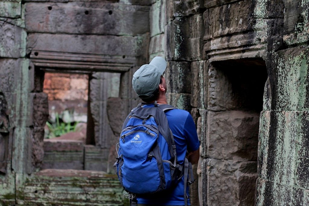 Exploring the Temples Angkor Cambodia