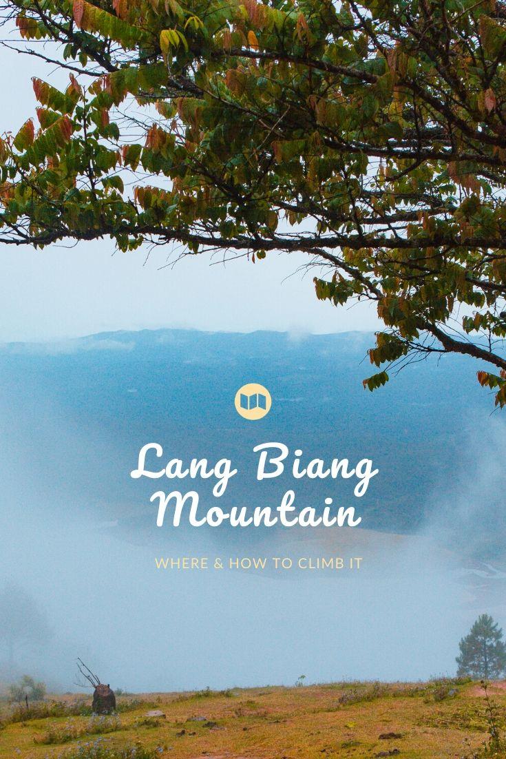 Climbing Lang Biang Mountain in Da Lat
