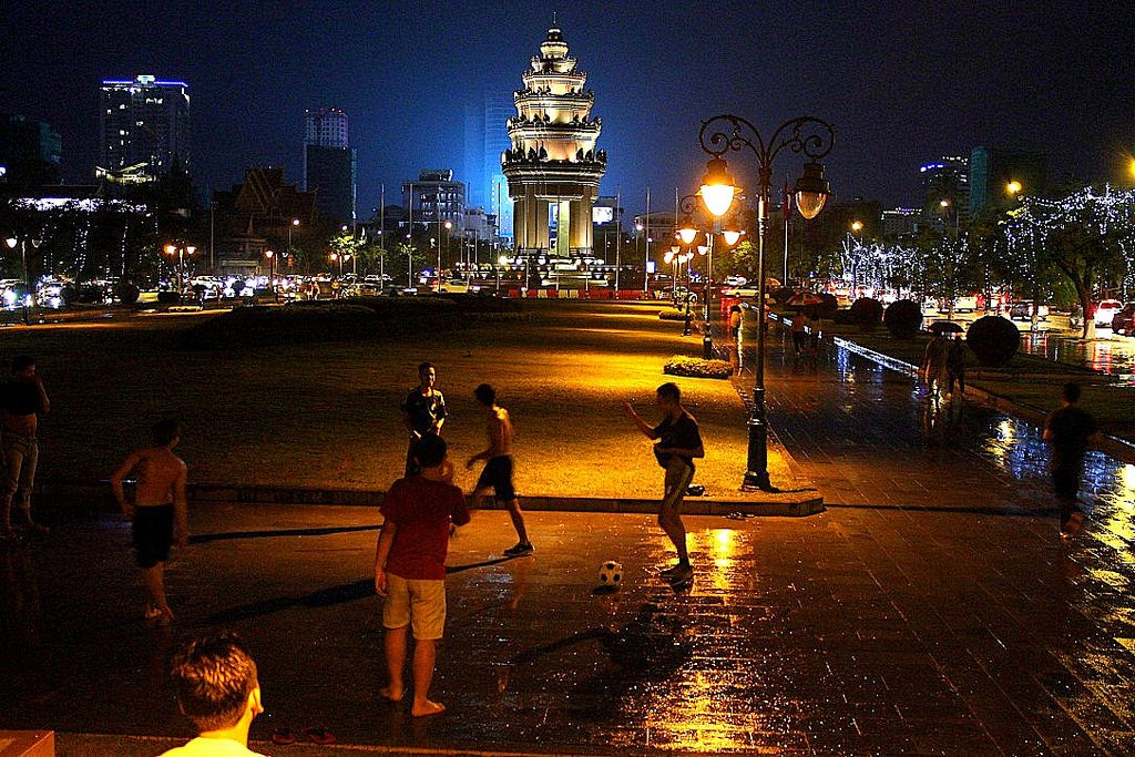 Phnom Penh, independence monument