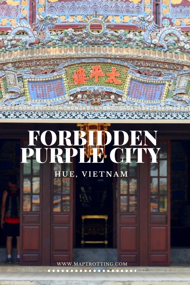 Visiting the Forbidden Purple City in Hue (Huế), Vietnam