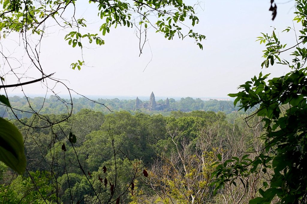The view from Phnom Bakheng temple towards Angkor Wat