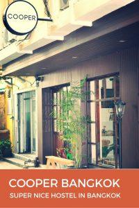 COOPER Bangkok, Stylish Boutique Hostel on Silom Road