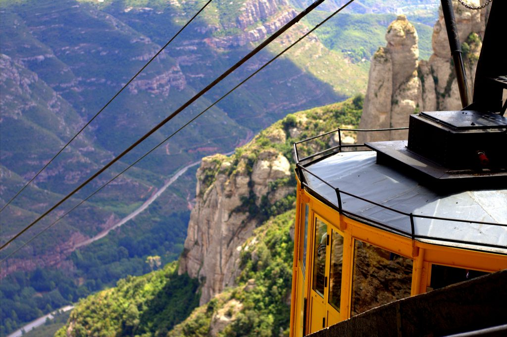 Cable Car (Aeri de Montserrat) - Montserrat in Spain
