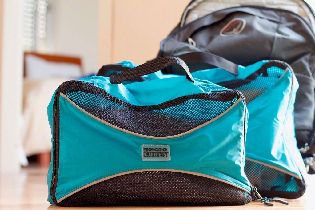 pro packing cubes review handles
