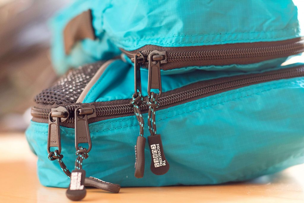 pro packing cubes review zipper quality