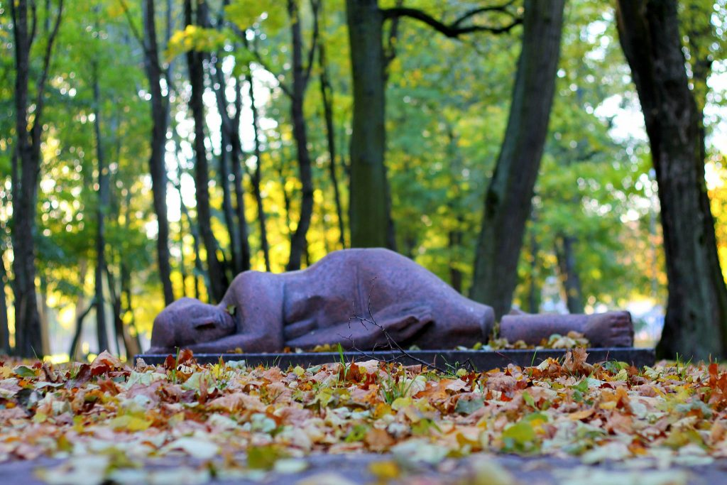 sculpture park klaipeda