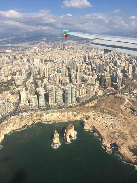 Beirut from the air