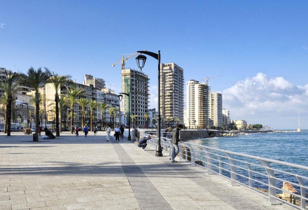 Corniche Beirut Boardwalk