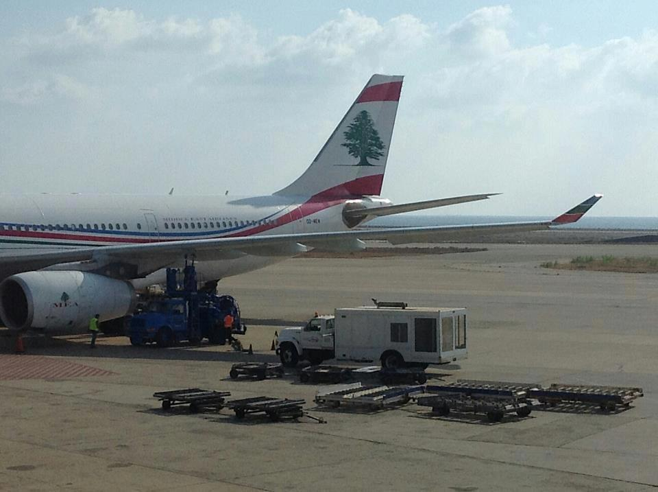Middle East Airlines plane