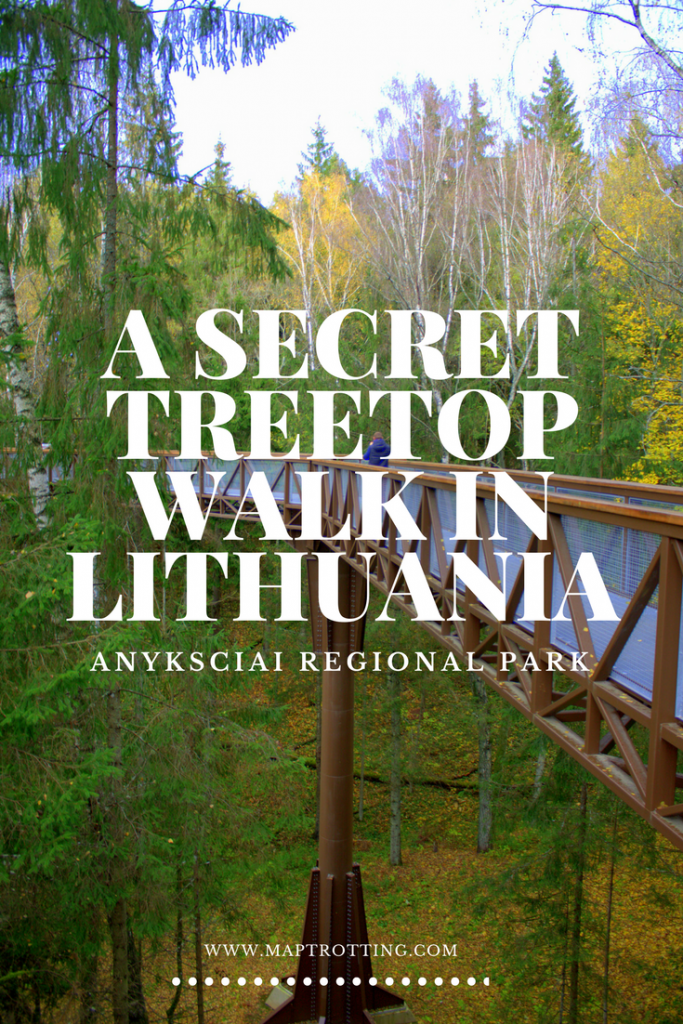 A Secret Treetop Walk in Anyksciai, Lithuania
