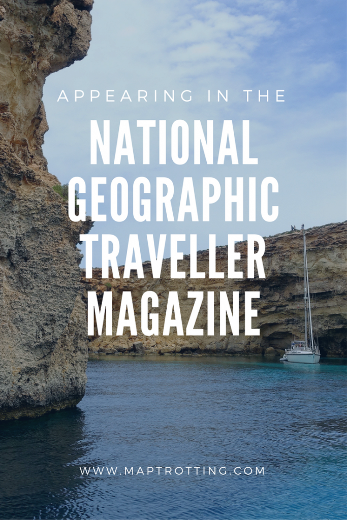 Appearing in the National Geographic Traveller Magazine