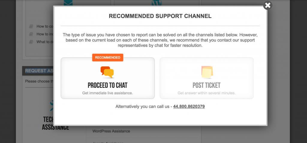 wordpress install assistance siteground