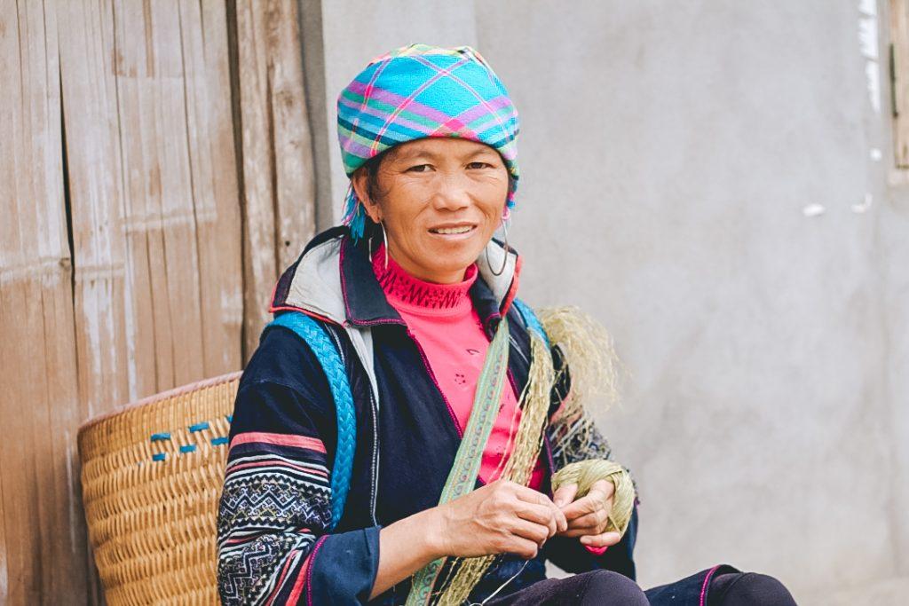 Vietnamese woman in Sapa