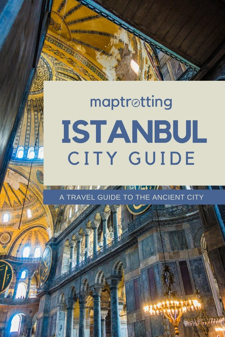 Istanbul City Guide.A travel Guide to the Ancient City. Turkey