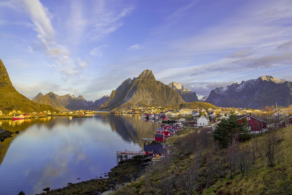 Where to travel in 2018 - Lofoten Islands in Northern Norway