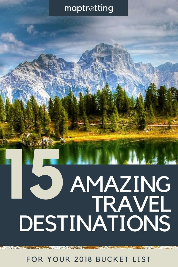 Where to travel in 2018. Top Travel Destinations