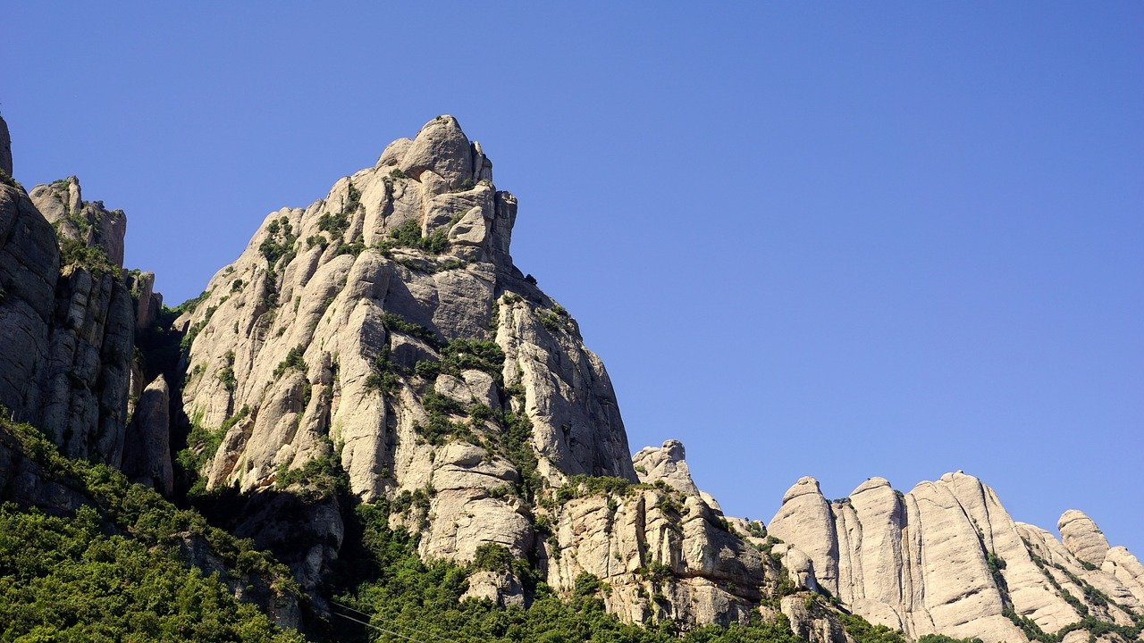 Montserrat Mountain, Spain