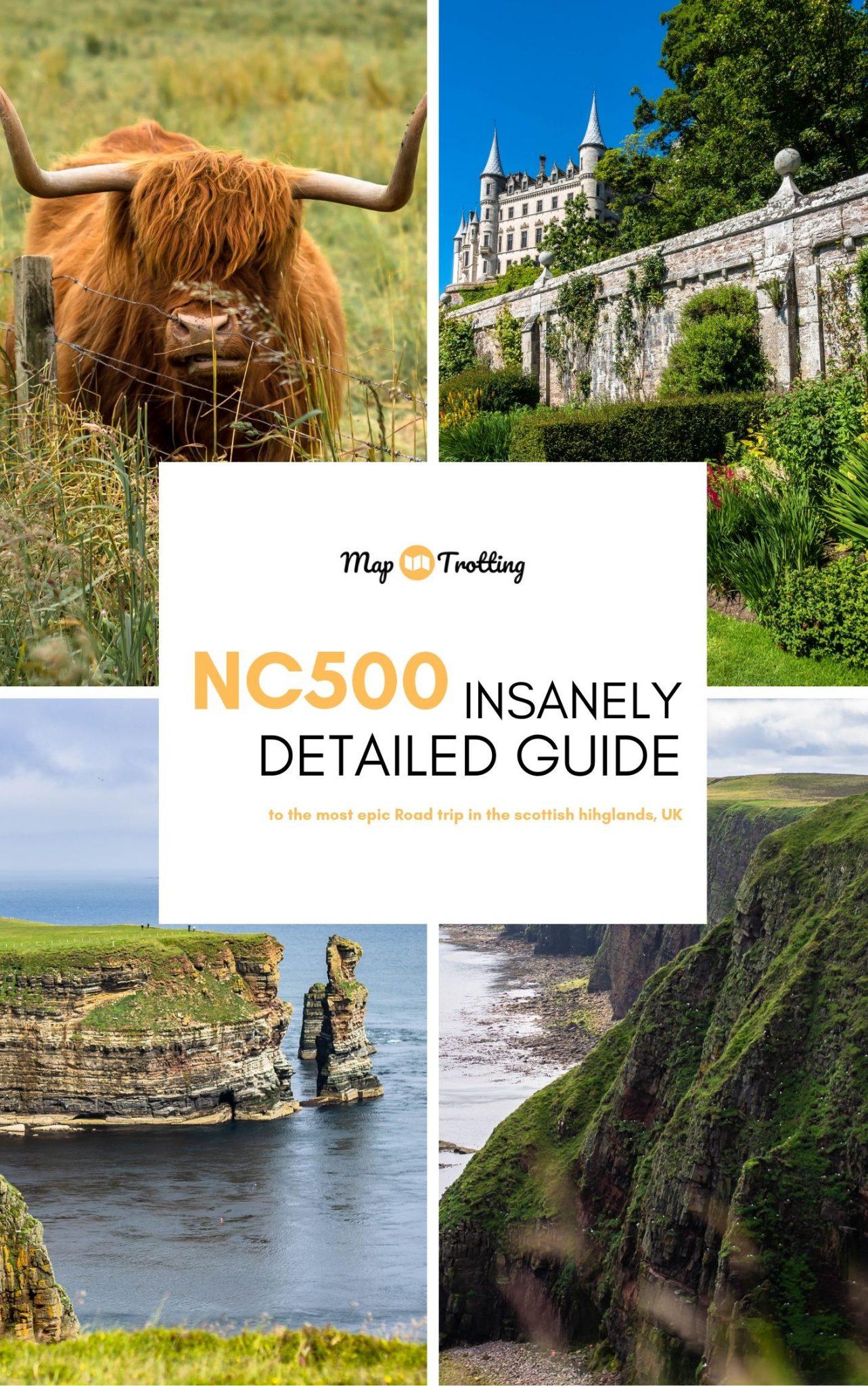 North Coast 500 Route in Scotland
