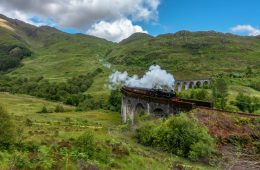 The Harry Potter Train - Scotland