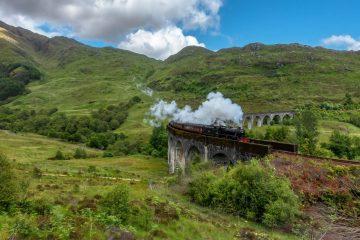 The Harry Potter Train - Scotland