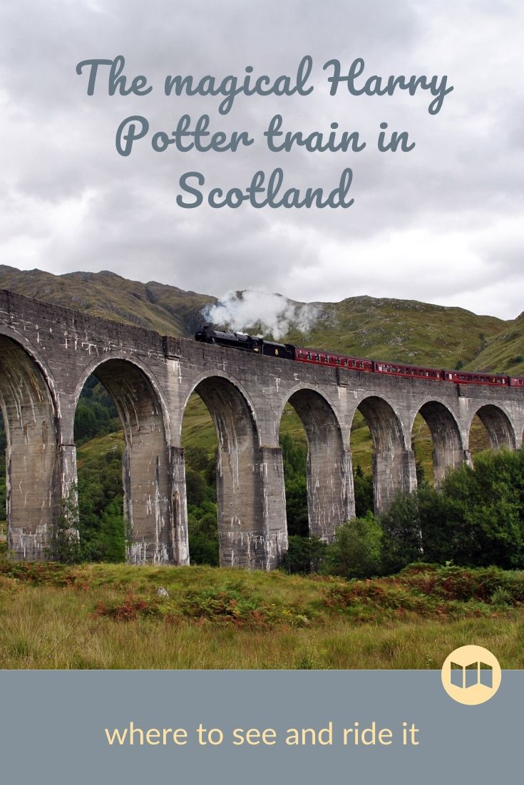 The Harry Potter Train in Scotland